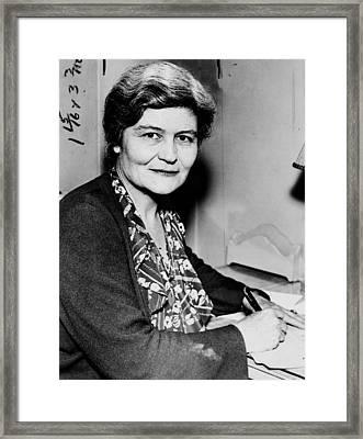 Josephine Roche (1886-1976) Framed Print by Granger