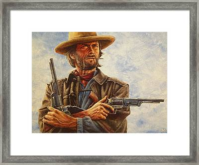 Josey Wales Framed Print