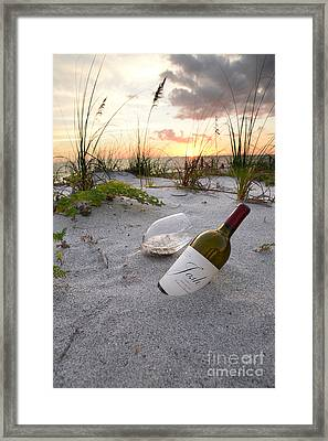 Josh Wine Framed Print by Jon Neidert