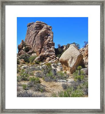 Joshua Tree - 13 Framed Print by Gregory Dyer