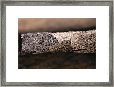 Joshua Tree Rocks 4 Framed Print by Craig Pavilionis