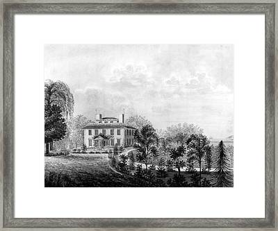 Josiah Quincy House Framed Print