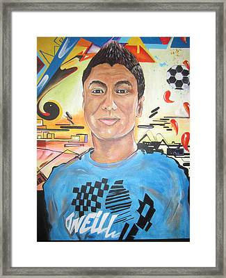Josias 1991-2012 Framed Print by Erik Franco