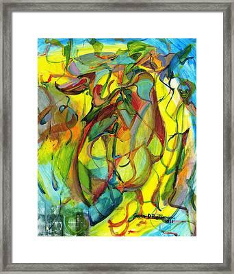 Josie's Pals Framed Print