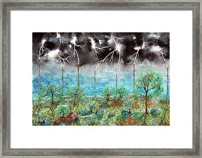Framed Print featuring the painting Joules by Douglas Beatenhead