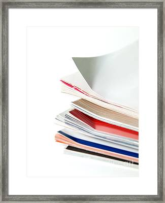 Journals Framed Print by Sinisa Botas