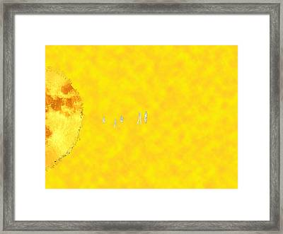 Journey Framed Print by Bruce Iorio