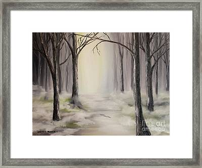 Framed Print featuring the painting Journey by Christie Minalga