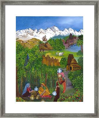 Journey Home Framed Print