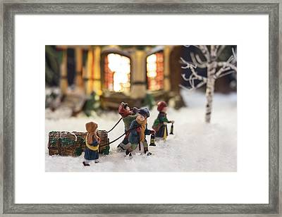 Journey Home Framed Print by Caitlyn  Grasso