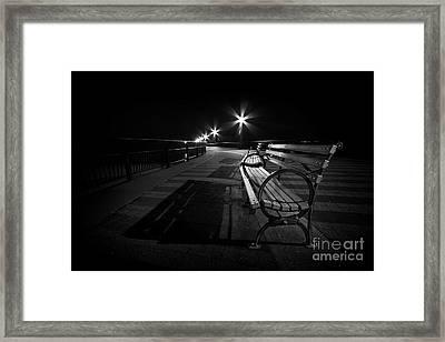 Journey Into Darkness Framed Print