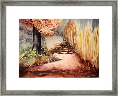 Journey Framed Print by Kristine Plum
