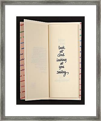 Journey Notes Framed Print by Anne Timlick