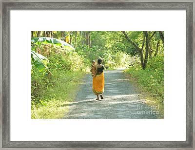 Journey Of Life  Framed Print by Bobby Mandal