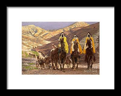 Man Of God Framed Prints