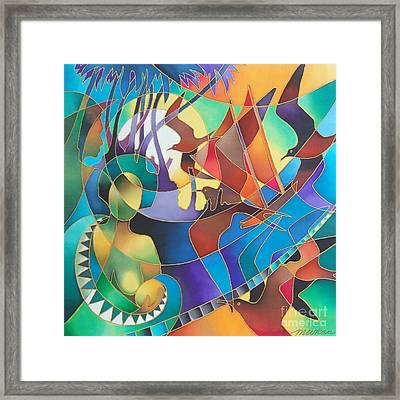 Journey Of The Vaka I Framed Print