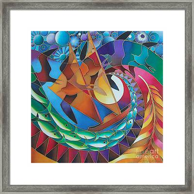 Journey Of The Vaka IIi Framed Print