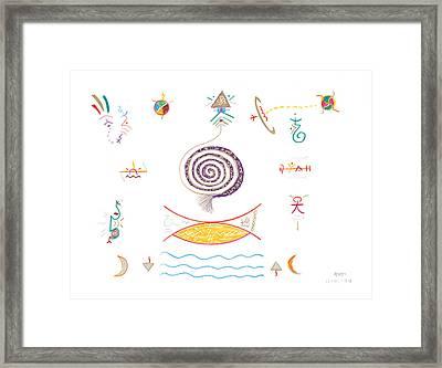 Journey To Abundance Framed Print