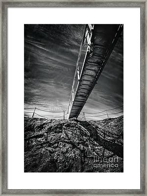 Journey To The Centre Of The Earth Framed Print