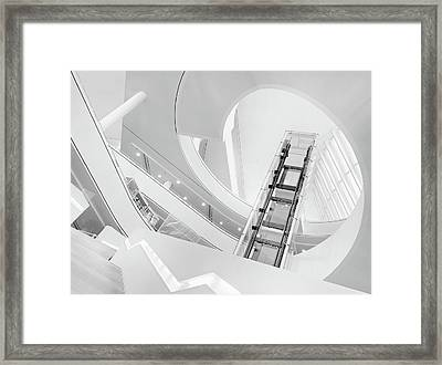 Journey To The Light Framed Print by Jeroen Van De