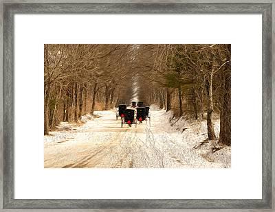 Journey Together Framed Print