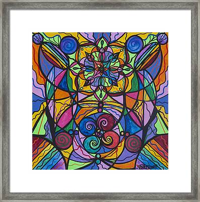 Jovial Optimism Framed Print by Teal Eye  Print Store