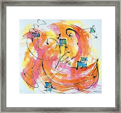 Joy Framed Print by Asha Carolyn Young