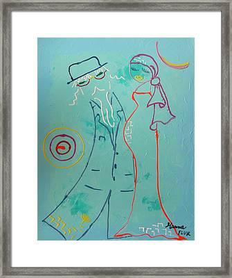 Joy Framed Print by Hanna Fluk