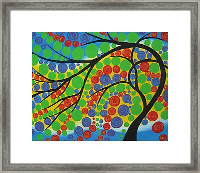 Joy In The Branches Framed Print