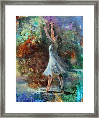 Joy In The Morning Framed Print