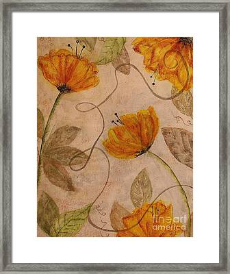 Framed Print featuring the painting Joy by Jane Chesnut