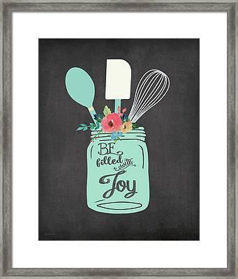 Joy Jar Framed Print