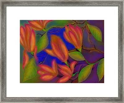 Joy Framed Print by Latha Gokuldas Panicker