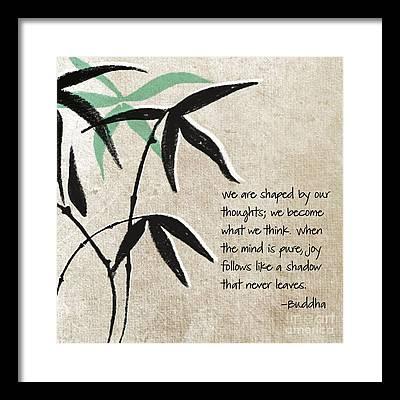 Tree Mixed Media Framed Prints