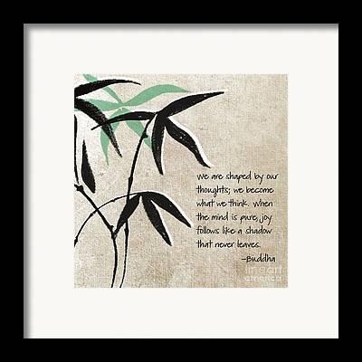 Bamboos Framed Prints