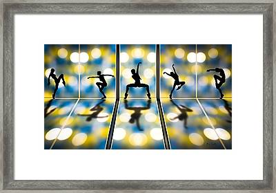 Joy Of Movement Framed Print