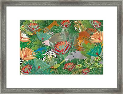 Joy Of Nature Limited Edition 2 Of 15 Framed Print by Gabriela Delgado