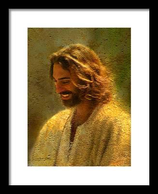 Savior Framed Prints