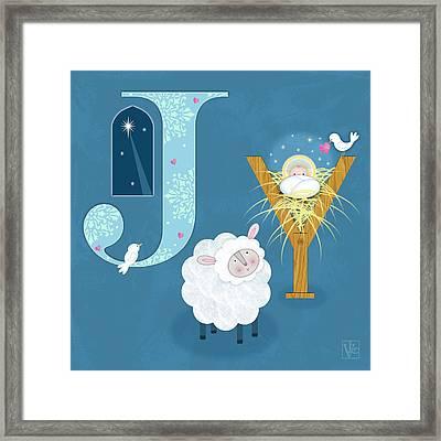 Joy To The World Framed Print by Valerie Drake Lesiak