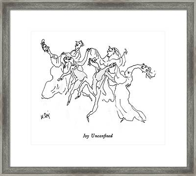 Joy Unconfined Framed Print