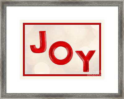 Framed Print featuring the photograph Joy To The World by Vizual Studio