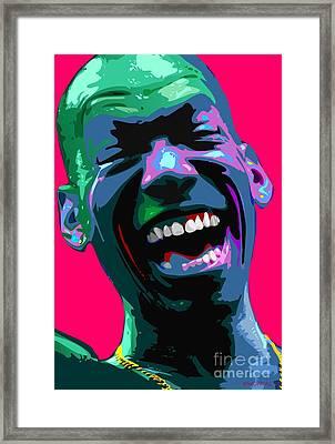 Joy Framed Print by Walter Oliver Neal