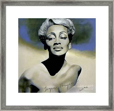 Joyce Bryant  Framed Print