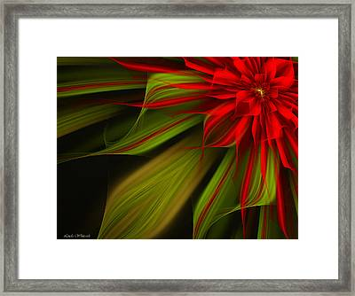 Joyful Blossom Framed Print