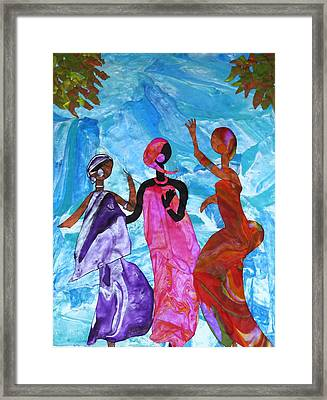 Joyful Celebration Framed Print