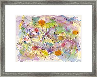 Joyful Harmony Framed Print