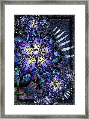 Joyful Julia Framed Print