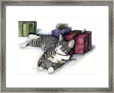 Joyful Framed Print