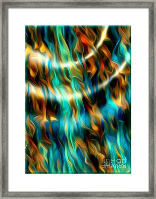 Joyful Waves - Abstract Art By Giada Rossi Framed Print