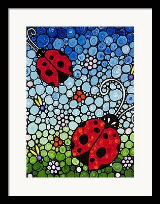 Ladybug Framed Prints